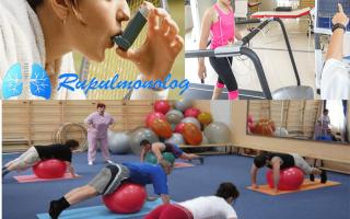 Занятия спортом при астме