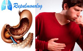 Желудочный кашель: симптомы, лечение