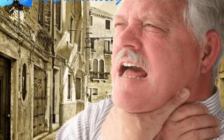 Помощь при удушающем кашле