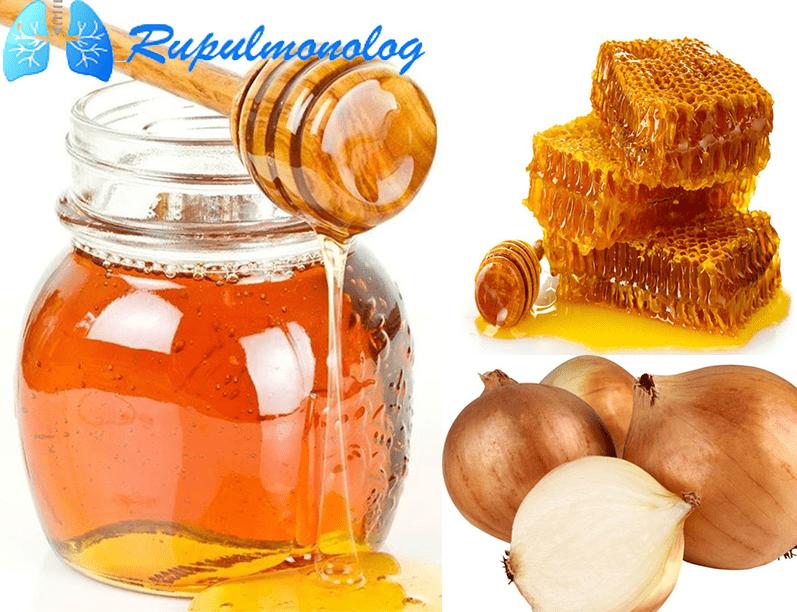 Лук с медом