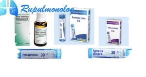 Гомеопатические средства для лечения кашля
